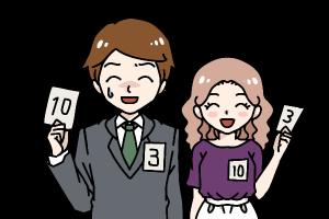 結婚相談所 婚活パーティーでカップルになった男女