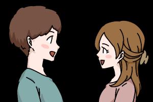 結婚相談所 笑顔で彼氏の話を聞いてくれる彼女は大切な存在